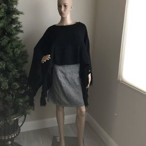Armani exchange sweater poncho!
